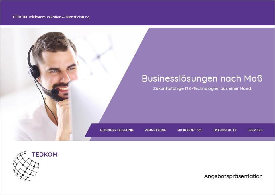 TEDKOM - Download -Leistungen & Services
